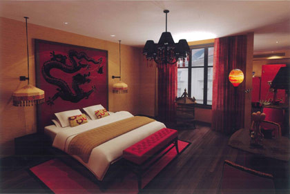 Am nagement chambre adulte asiatique for Deco chambre asiatique